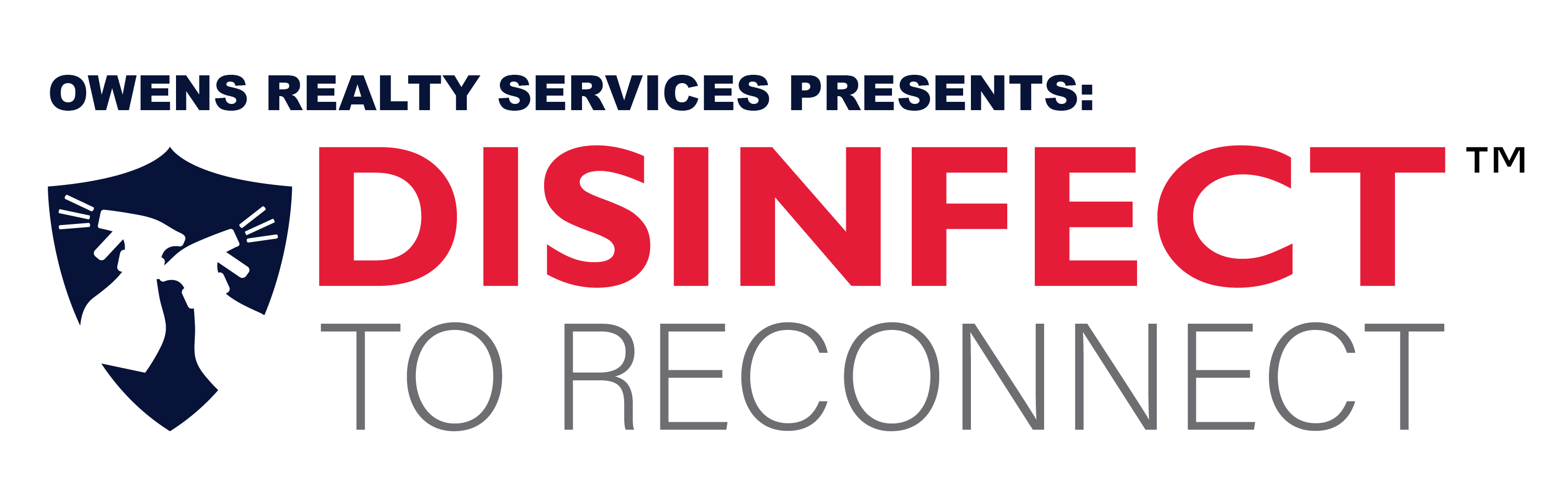 Disinfect to Reconnect Logo - For Review