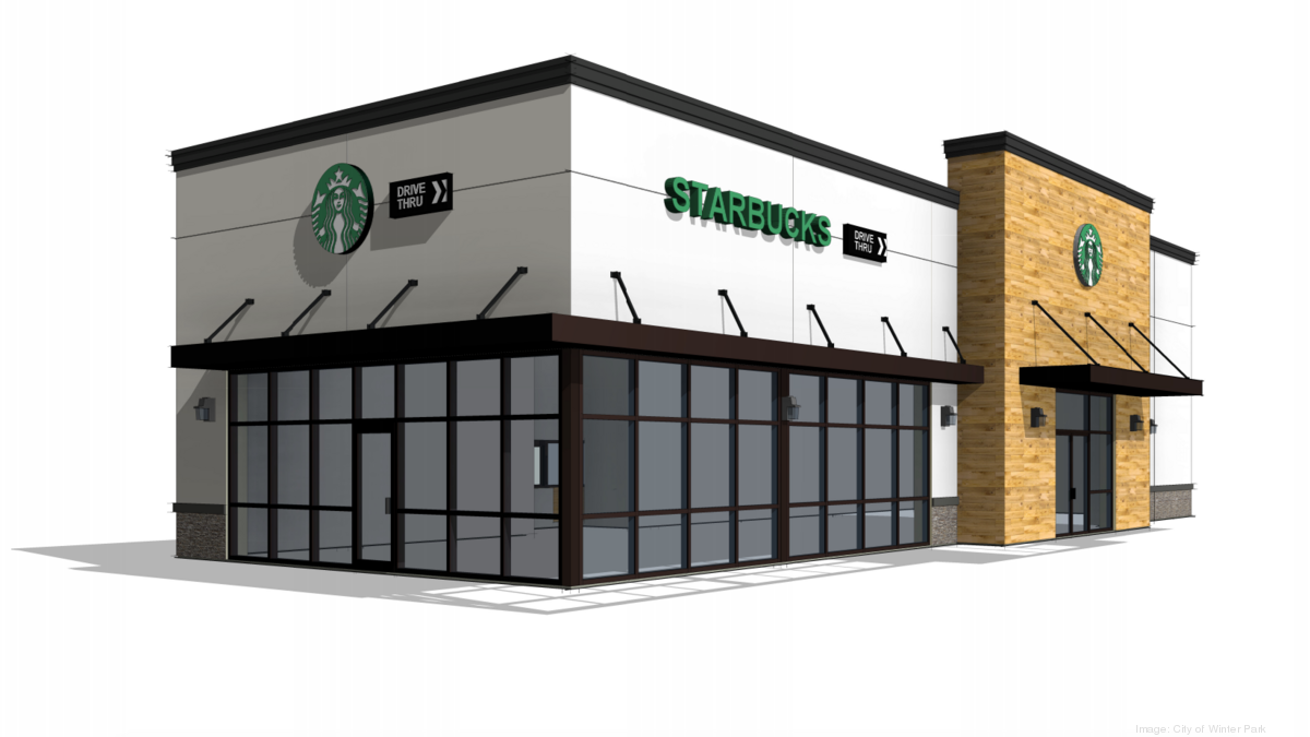Starbucks Rendering