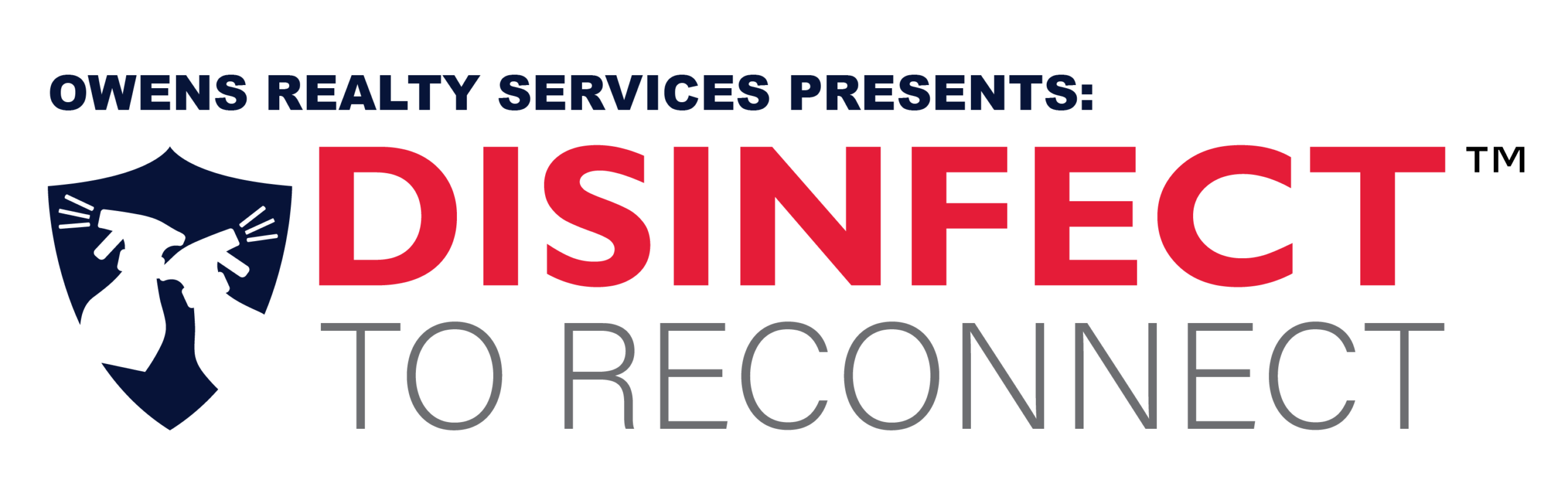 Disinfect to Reconnect Logo