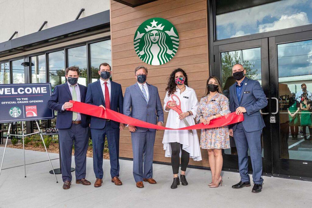 StarbucksRibbonCutting